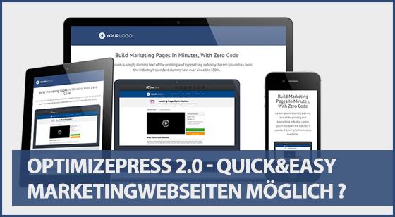 Optimizepress 2.0 Erfahrungen und Testberichte von Optimizepress