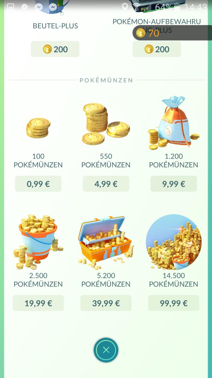 Pokémon Go Coins