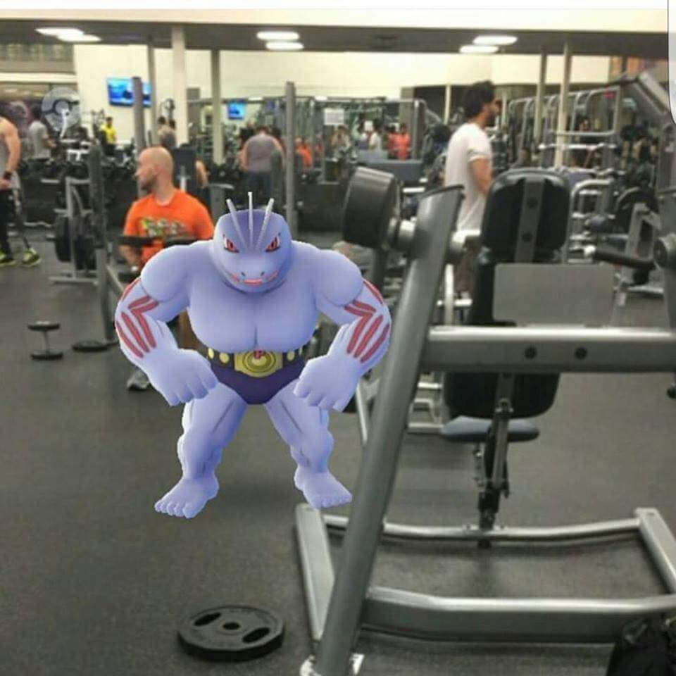 Pokémon Go Fitnesstraining