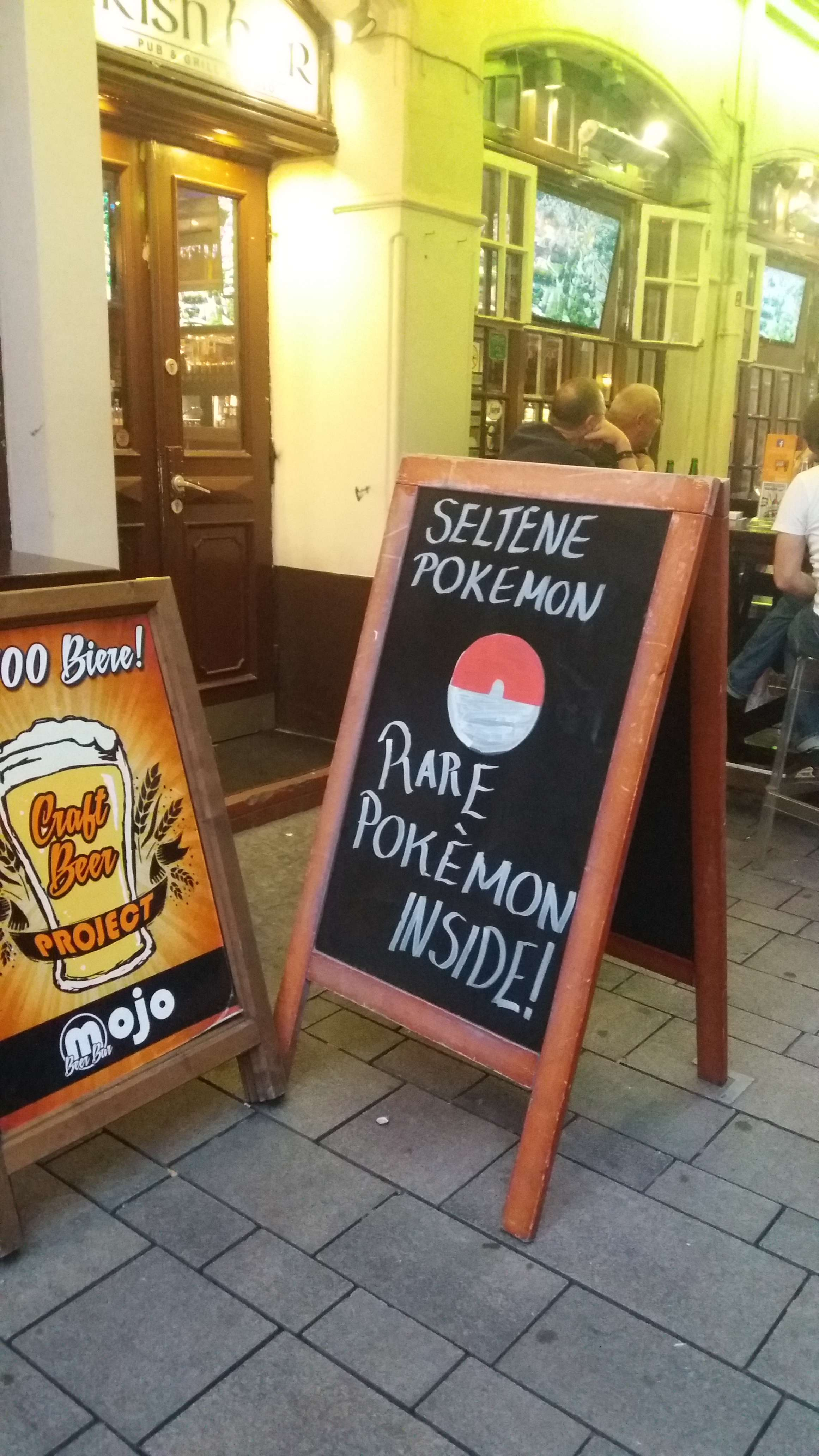 Pokémon Go - Seltene Pokémon?