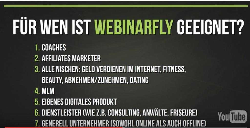 Webinarfly für Unternehmer