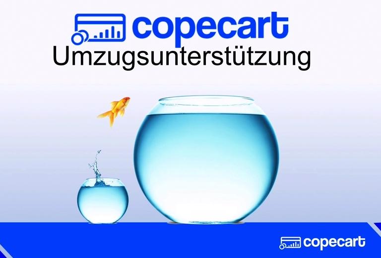 CopeCart Umzugsunterstützung