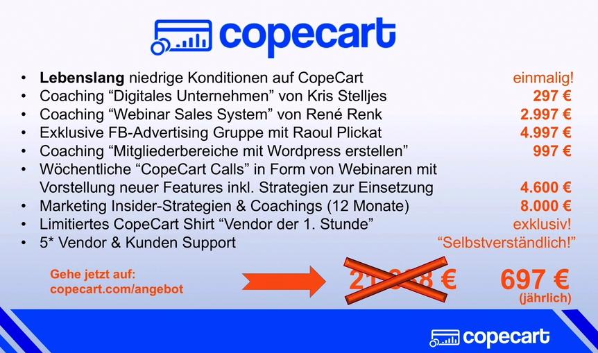 CopeCart Kosten Übersicht