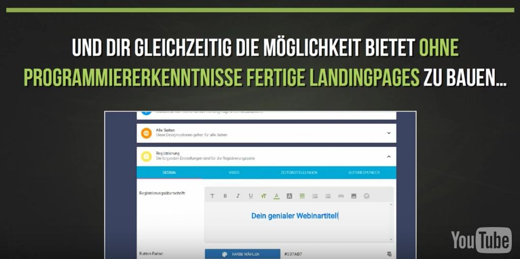 Webinarfly Features