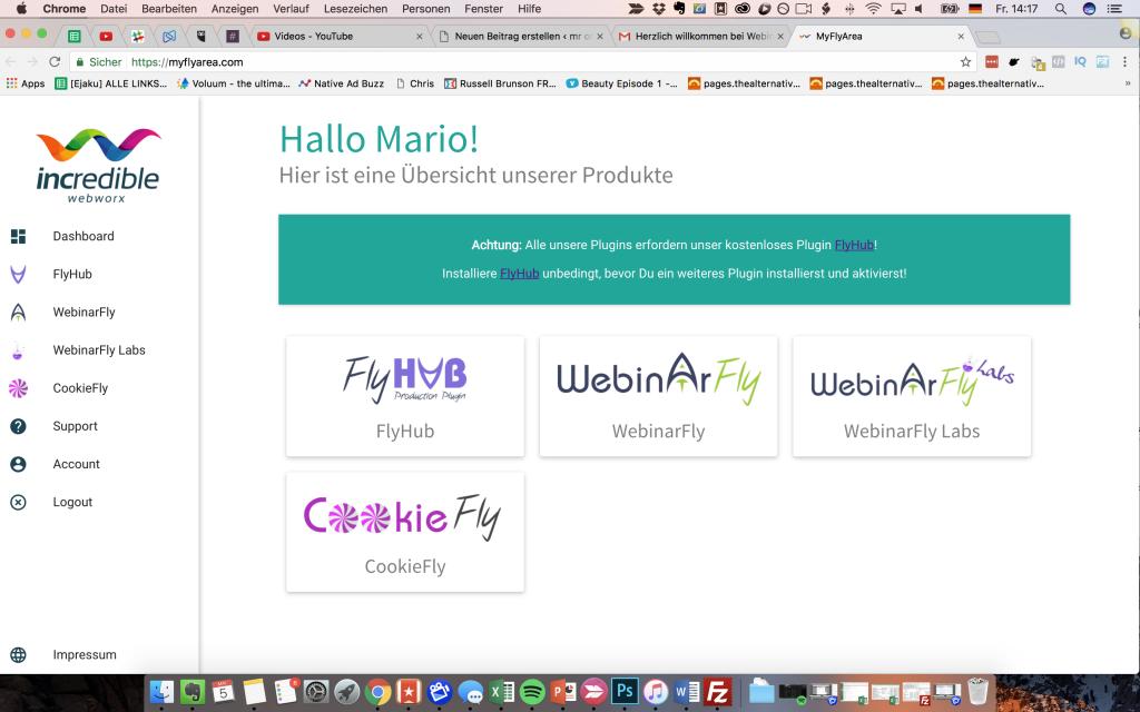 webinarfly memberbereich