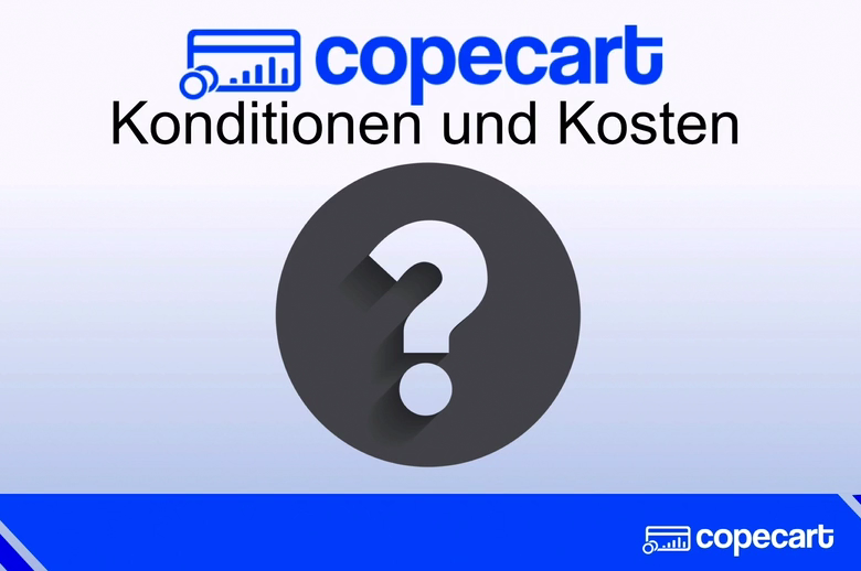 CopeCart Konditionen