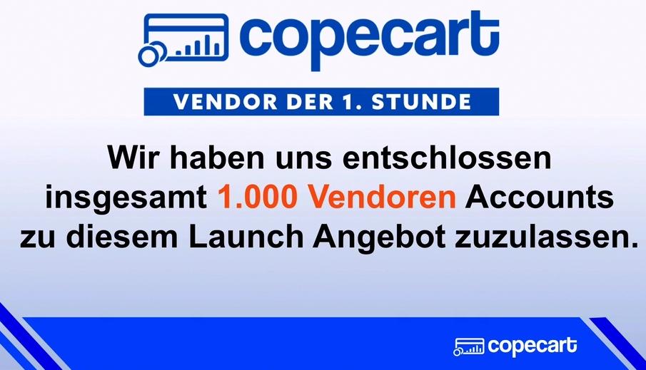CopeCart Verknappung
