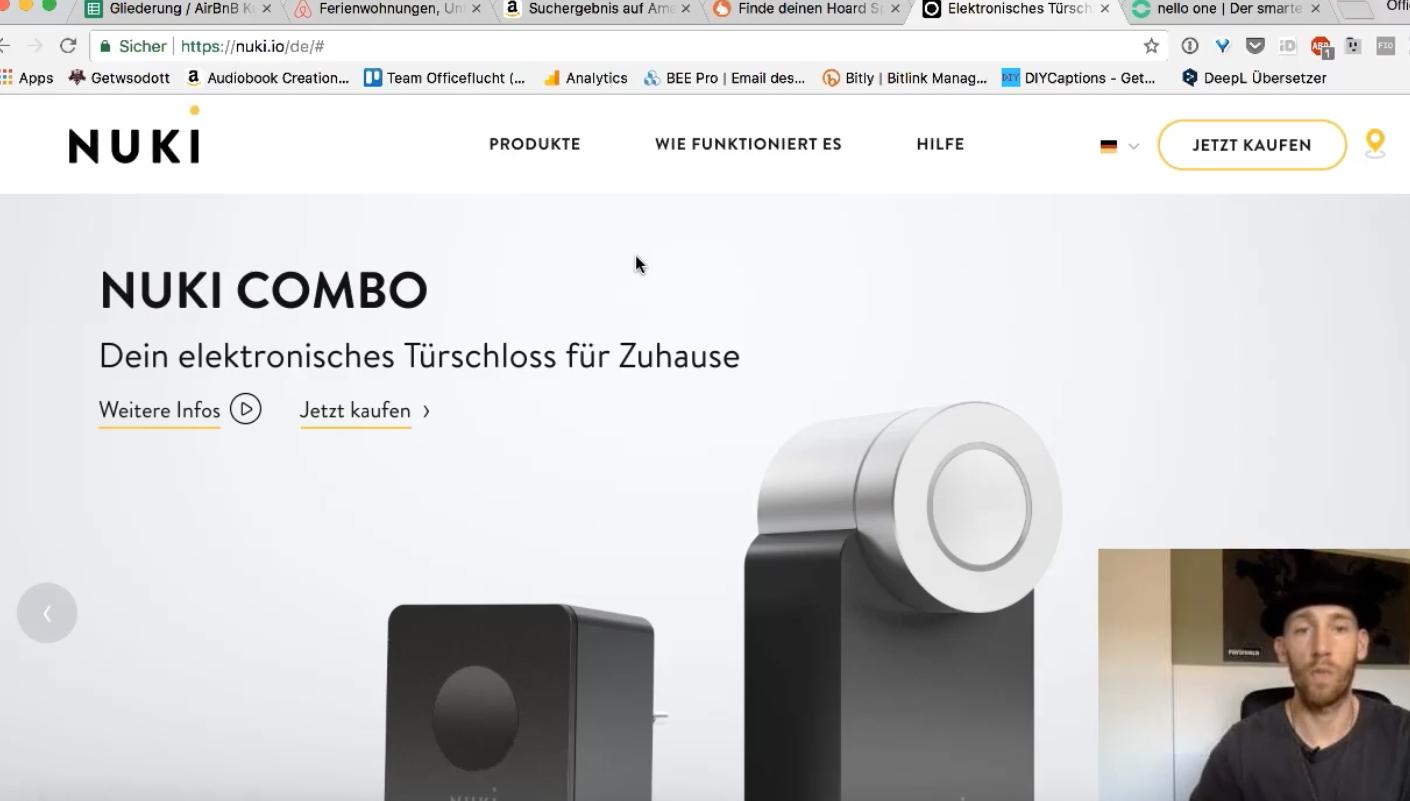 Airbnb Smartphonelocker